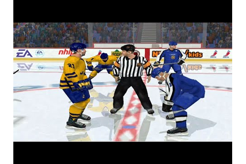 NHL 2002 Finland - Sweden - YouTube