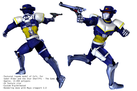 Colt - Saber Rider and the Star Sheriffs - The Game ...