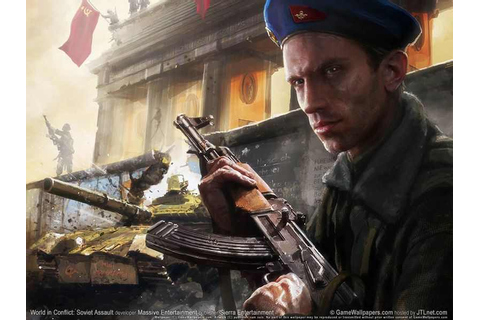 World in Conflict Soviet Assault Download Free Full Game ...