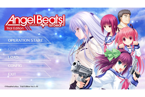 Angel Beats! -1st Beat- Trial Edition Released Online