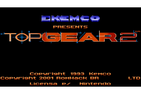 Snes Eternament: Top Gear 2 - Password turbinado