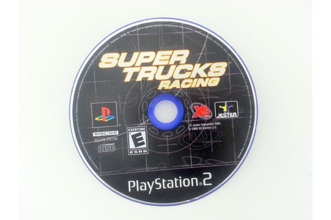 Super Trucks Racing game for Playstation 2 (Loose) | The ...