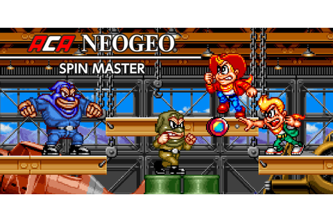 ACA NEOGEO SPIN MASTER | Nintendo Switch download software ...