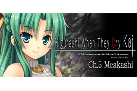 Higurashi When They Cry Hou - Ch.5 Meakashi