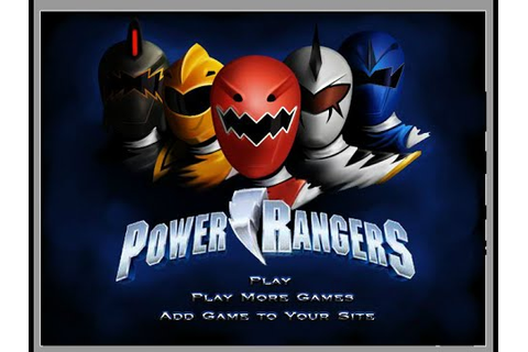 Power Rangers Dress Up Games - YouTube
