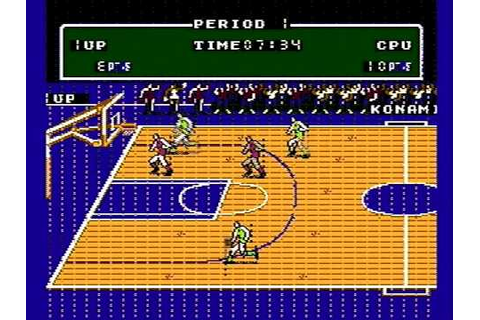 Nintendo NES Double Dribble Game (Intro) - YouTube