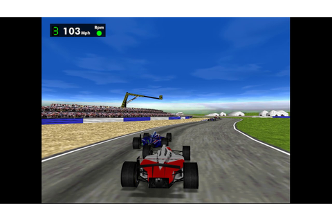 F1 Racing Simulation (PC, 1997) | Gameplay - YouTube