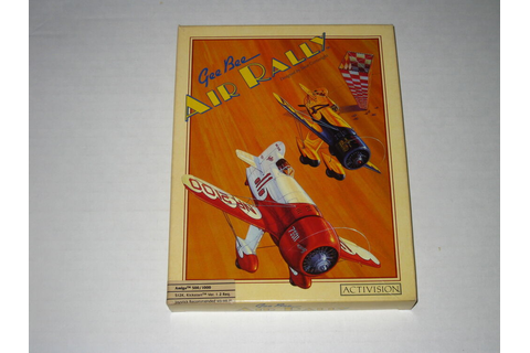 Gee Bee Air Rally (Amiga, 1987) Rare, Vintage Game | eBay