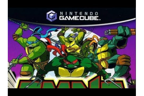 TMNT Mutant Melee / Ninja Turtles / Nintendo Gamecube ...