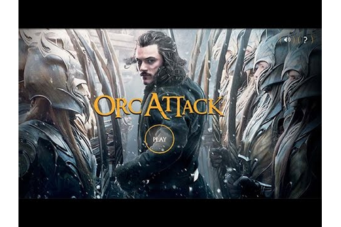 Orc Attack (The Hobbit) Html5 Game by Warner Bros - Games ...