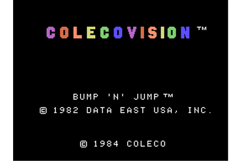 Download Bump 'N' Jump (ColecoVision) - My Abandonware