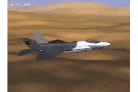 Joint Strike Fighter trailer - 1997 | Game Archives - YouTube