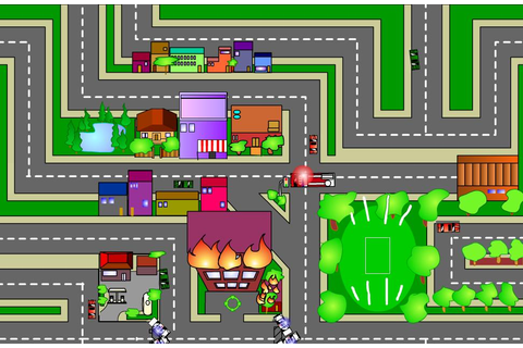 Play free Firetruck game Online games.