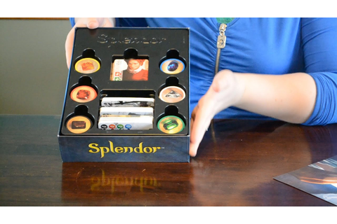 Splendor Board Game unboxing - YouTube