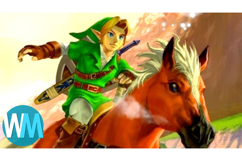 Top 10 Facts About The Legend of Zelda Games - YouTube