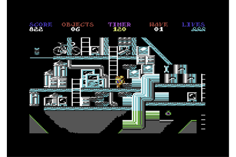 Download Peter Pack Rat (Amstrad CPC) - My Abandonware