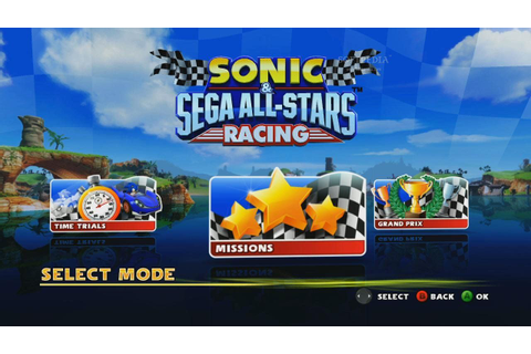 Sonic & Sega All-Stars Racing ~ Soft2Web