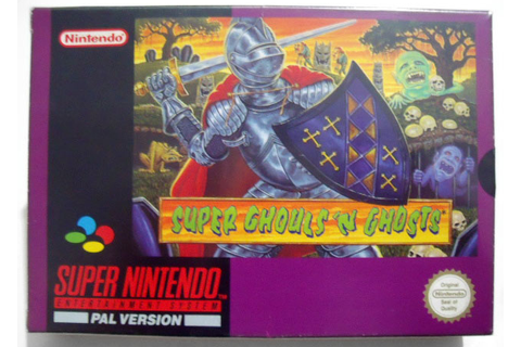Retro Treasures: Super Ghouls 'n Ghosts (SNES)