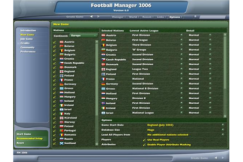 Football Manager 2006 Review | Trusted Reviews