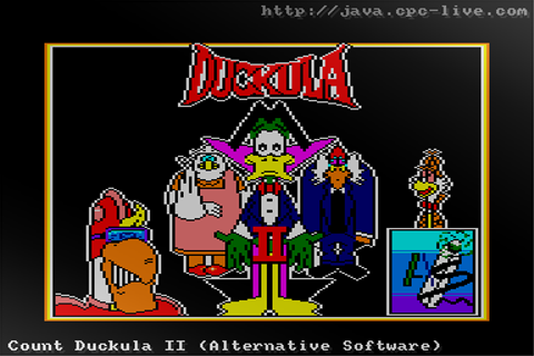 Count Duckula II (Alternative Software) - JavaCPC games site