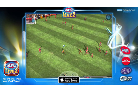 AFL Live 2 for iOS - YouTube