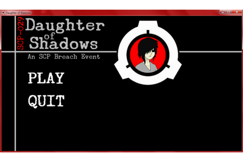 Daughter of Shadows: An SCP Breach Event on Steam