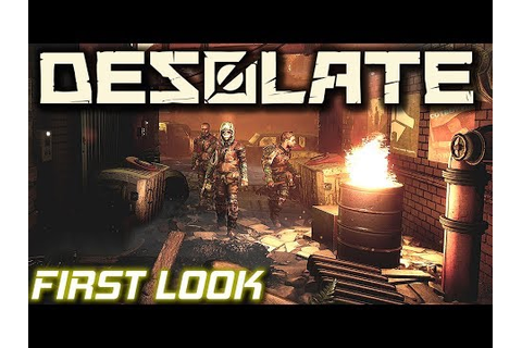 First Look Post Apocalyptic Survival | Desolate Gameplay ...