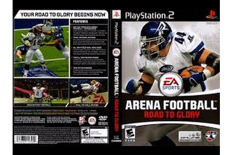 ARENA FOOTBALL ROAD TO GLORY PS2 GAMEPLAY - YouTube