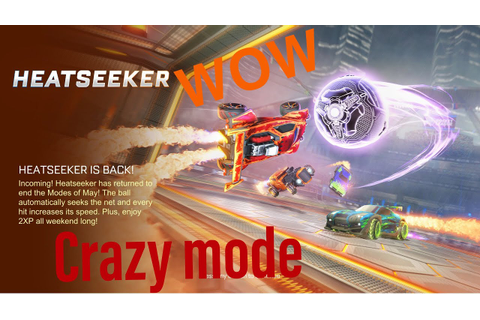 New heatseeker game mode (Rocket league) - YouTube
