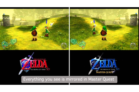 The Legend of Zelda: Ocarina of Time 3D Master Quest ...