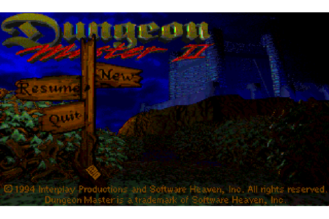 Dungeon Master II: The Legend Of Skullkeep : The Company ...