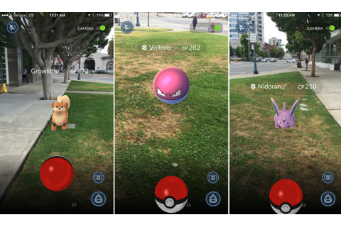 This is Pokémon Go, the ambitious AR game bringing pocket ...