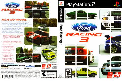 End PS2 Games Melhor Blog de PS2: Ford Racing 3 - PS2
