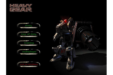 Heavy Gear (1997) - PC Review and Full Download | Old PC ...
