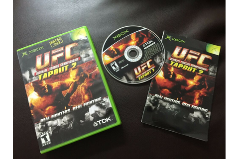 UFC: Tapout 2 (Xbox, 2003)COMPLETE GAME 739069640178 | eBay
