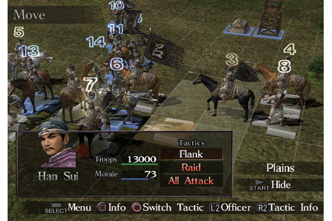 User Feature: Dynasty Tactics PS2 Classic [ Strategy at ...