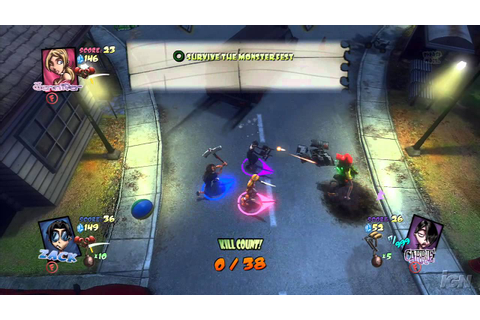 Monster Madness: Grave Danger PlayStation 3 Gameplay ...