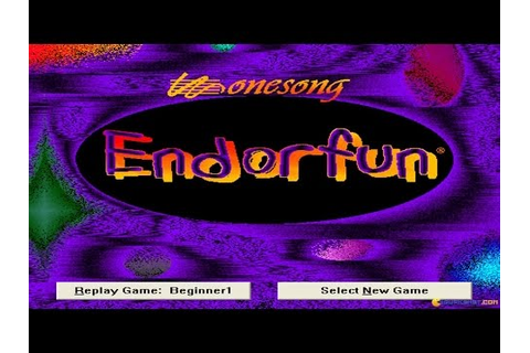 Endorfun gameplay (PC Game, 1995) - YouTube
