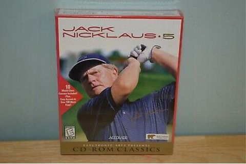 Brand NEW Sealed Jack Nicklaus 5 - PC GAME Golf Course ...