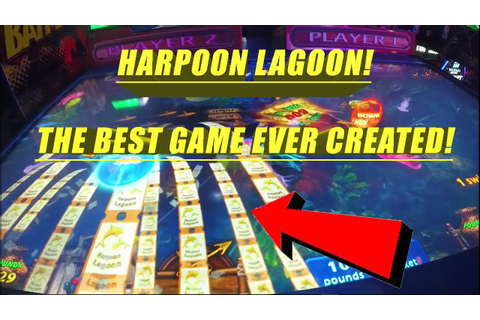 Harpoon Lagoon ! The Greatest Arcade Game You Might Not Be ...