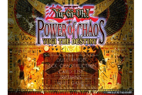 YuGiOh! Power of Chaos Games ( The Original Games) by ...