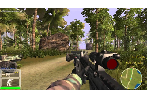 Retro Gameplay - Joint Ops (2004) PC video game - YouTube