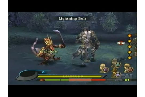Valkyrie Profile 2: Silmeria PlayStation 2 Gameplay ...