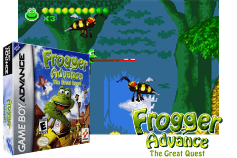 FROGGER ADVANCE : THE GREAT QUEST [EUROPE] - (Game Boy ...