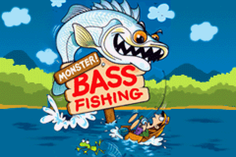 Monster! Bass Fishing (2002) by Ignition Entertainment GBA ...