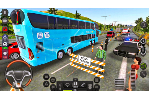 Bus Simulator Ultimate #16 Let's go to Dallas! Bus Games ...
