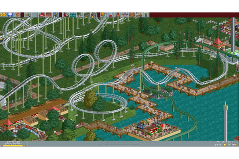 RollerCoaster Tycoon Classic (RCT1) Widescreen Windows 10 ...