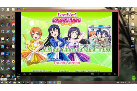 How To Install Love Live School Idol Festival On Pc - YouTube