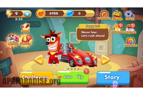 Crash Bandicoot Nitro Kart 2 APK Download _v1.4 (Latest ...