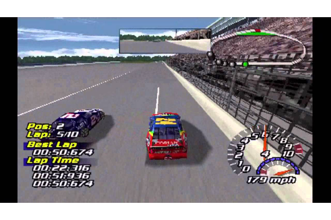 NASCAR 2001 (PS1) - YouTube